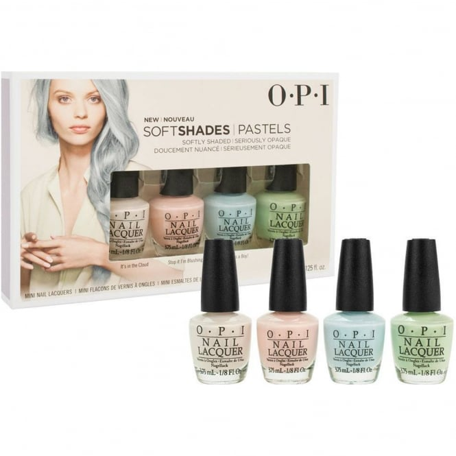 OPI Soft Shades 2016 Nail Polish Collection - Mini Pastel Pack (4x 3.75ml) (DD S33)