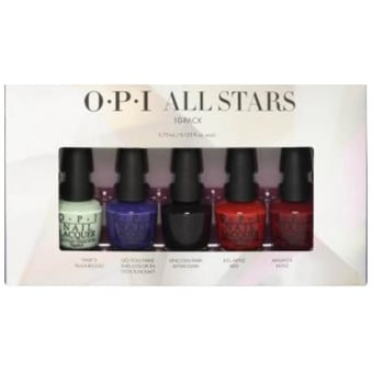 Starlight 2015 Holiday Mini Nail Polish Collection - Bottom Stars 5x3.75ml