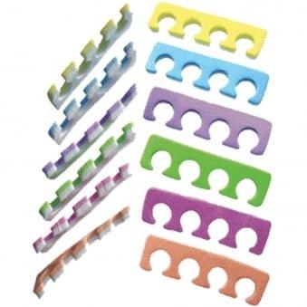 Toe Separators For The Perfect Pedicure x 2 Pieces (Random Colour)