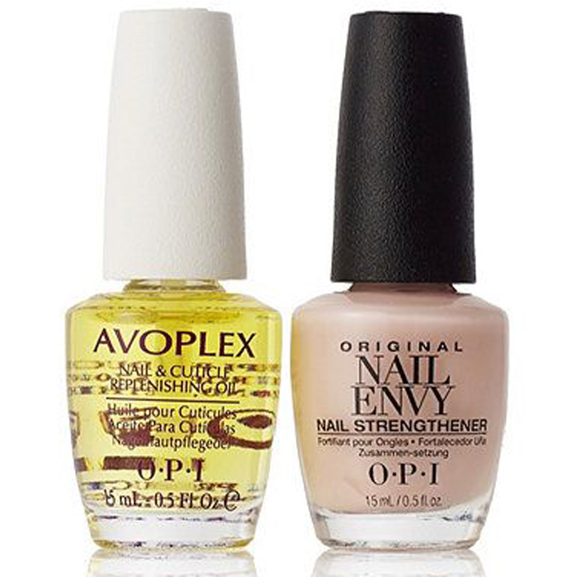 Nail Envy Strengthener Bubble Bath & Avoplex Cuticle Oil - Dream Duo