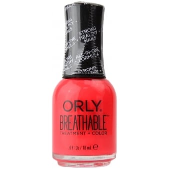 Breathable Treatment & Nail Colour - Beauty Essential 18ml (OR916)