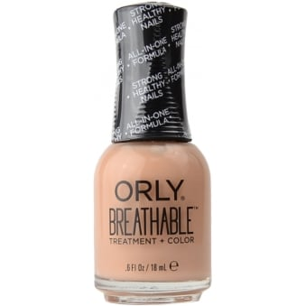 Breathable Treatment & Nail Colour - Nourishing Nude 18ml (OR907)