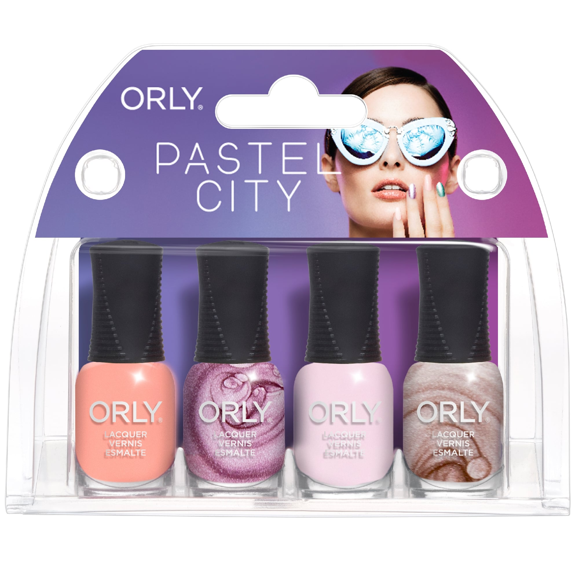Orly Pastel City Nail Polish Collection - 4 Piece Mini Set (OB195)