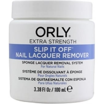 Slip It Off Nail Lacquer Remover - 100 mL - 3.38 fl Oz