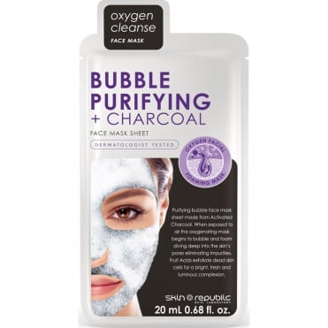 Oxygen Cleanse Face Mask - Bubble Purifying + Charcoal 20ml