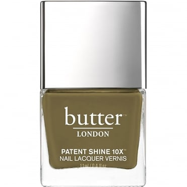 Patent Shine 10x Nail Polish Collection - British Khaki 11ml