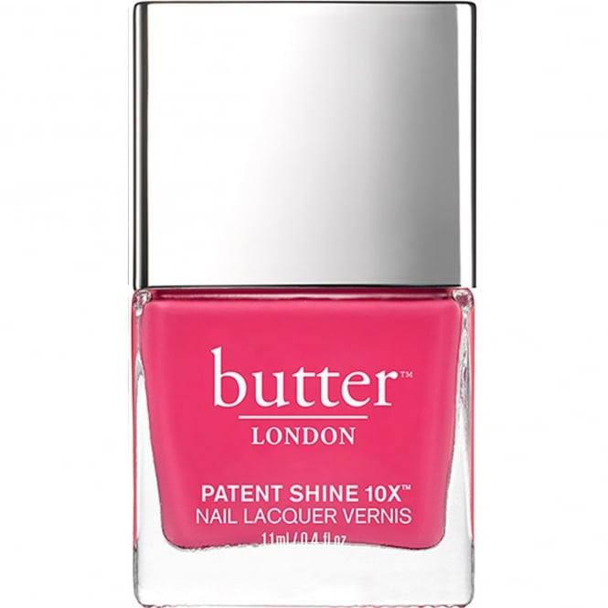 Butter London Patent Shine 10x Nail Polish Collection - Flusher Blusher (5061) 11mL