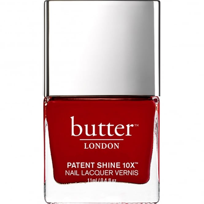 Butter London Patent Shine 10x Nail Polish Collection - Her Majesty's Red 11mL