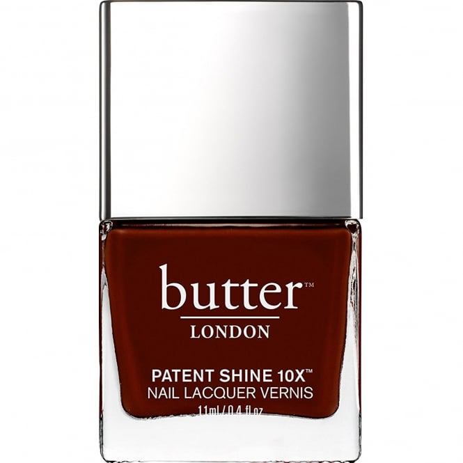 Butter London Patent Shine 10x Nail Polish Collection - Rather Red 11ml