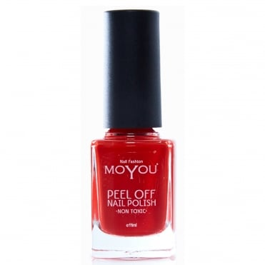 Peel Off Non Toxic Nail Polish - Fiery Flamenco 11ml (MYP4)