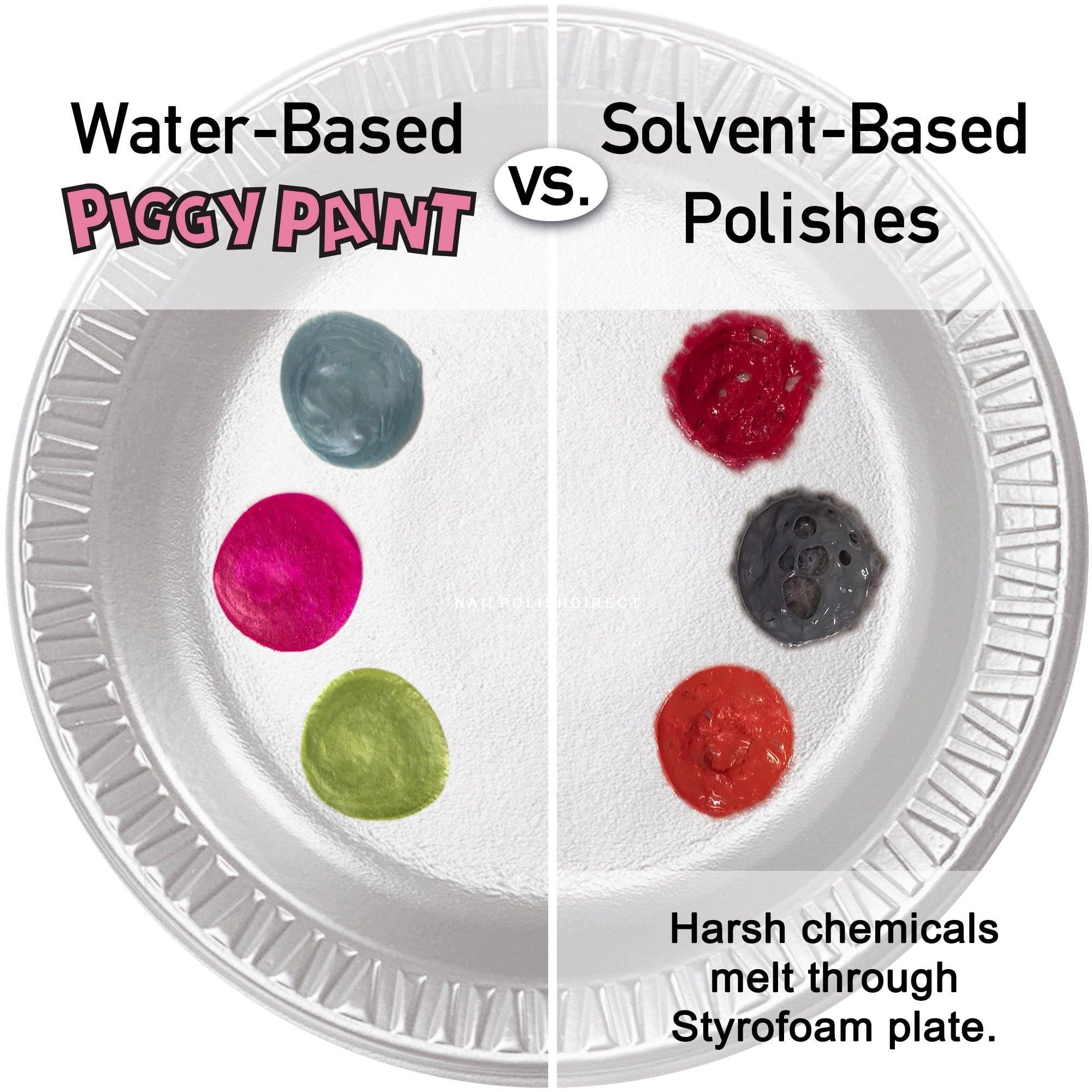 Piggy Paint Kid-Friendly Nail Polish - Drama (124) 15ml