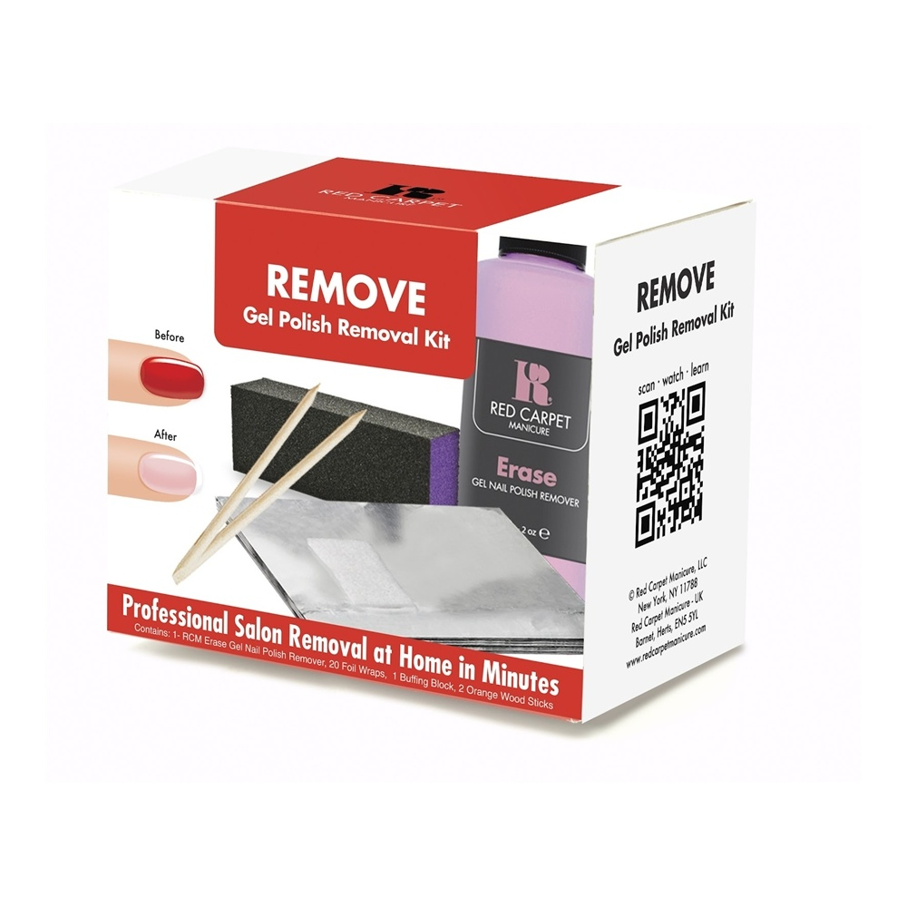 Red Carpet Manicure Gel Polish Home Removal Kit