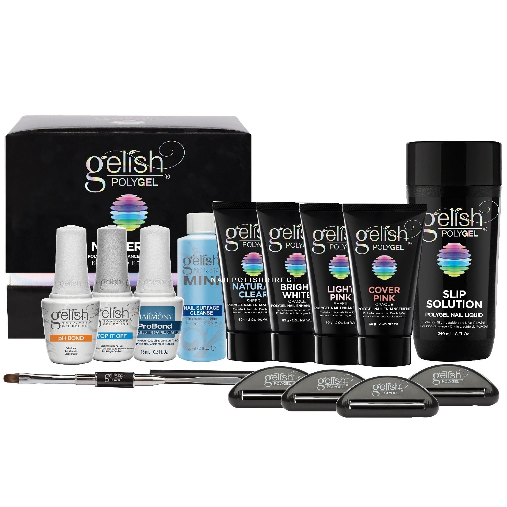 Yinikiz Poly Gel Nails Kit 60ml 6pcs A Set Polygel Uv Fast