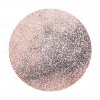 Powder Polish Dip System - Light Pink With Rainbow Glitter 45g (5550)