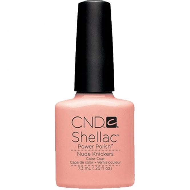 CND Shellac Power Nail Polish - Nude Knickers (7.3ml)