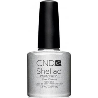 Power Nail Polish - Silver Chrome (7.3ml)