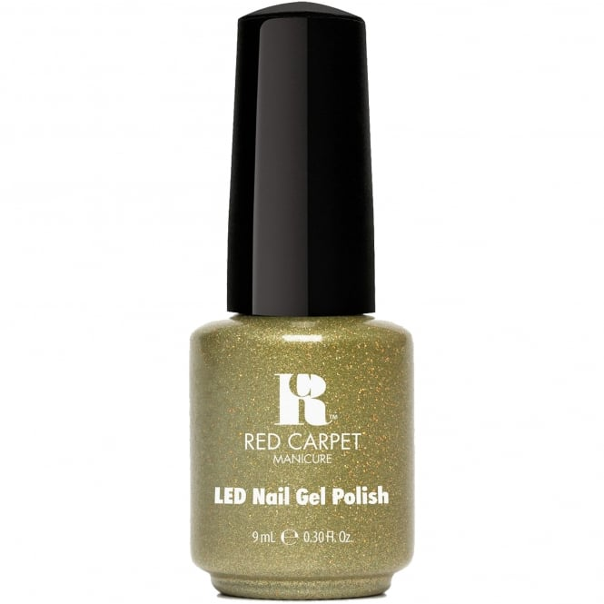 Red Carpet Manicure Gel Power Of The Gem BirthStone LED Nail Polish Collection - Peridot 9ml (283)