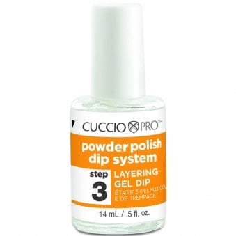 Pro Powder Polish Dip System - Layering Gel Dip (Step 3) 14ml