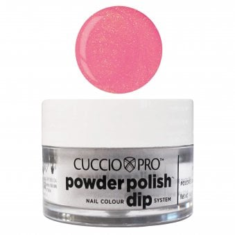 Pro Powder Polish Nail Colour Dip System - Bright Pink With Gold Mica 14g (55885)