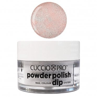 Pro Powder Polish Nail Colour Dip System - Light Pink With Rainbow Glitter 14g (55505)