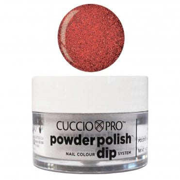 Pro Powder Polish Nail Colour Dip System - Ruby Red Glitter 14g (55315)