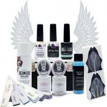 Professional Liquid & Powder Kit - Flawless French Collection (16 Piece Set) (02254)