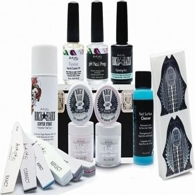 Artistic Rock Hard Professional Liquid & Powder Kit - Rock Star Collection (16 Piece Set) (02255)