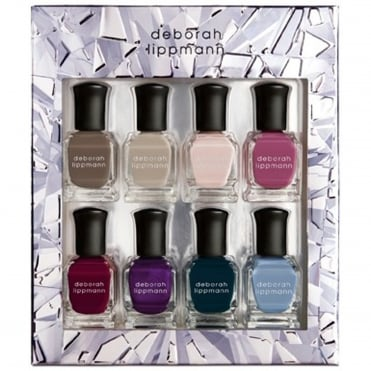 Professional Mini Nail Lacquer Set - Crystal Prism 8 Piece Set (8 x 8ml)