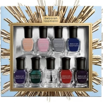 Professional Mini Nail Lacquer Set - Her Majesty 9 Piece Set (9 x 8ml)