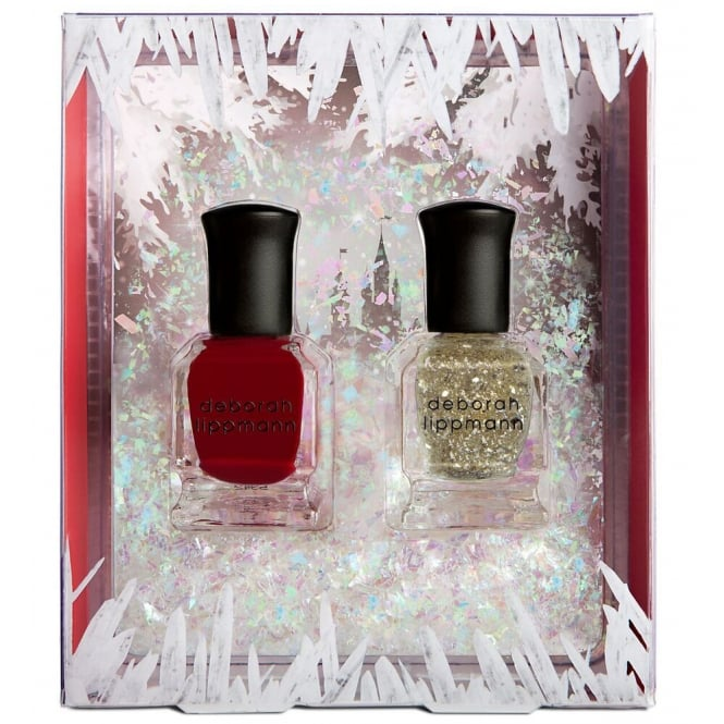 Deborah Lippmann Professional Mini Nail Lacquer Set - Ice Queen (x2 8ml)