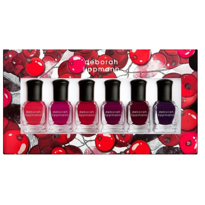 Deborah Lippmann Professional Mini Nail Lacquer Set - Very Berry 6 Piece Set (6 x 8ml)