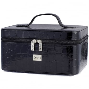 Professional Nail Polish & Treatment Case - 30 Piece Black Box