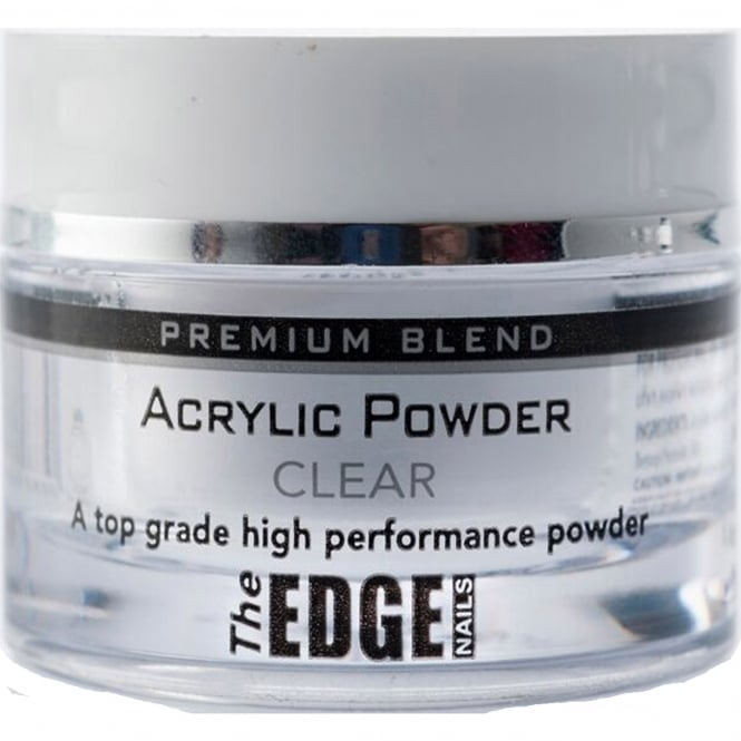 Edge Nails Professional Premium Acrylic Powder - Clear 8g