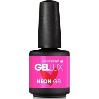 Profile Luxury Professional Collection Gel Nail Polish - Sizzling Pink Neon 15ml (0212839)