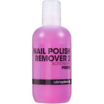 Profile Luxury Professional Nail Polish Remover Acetone Free - Remover 2 125ml (0219102)