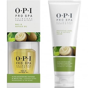 Protective Hand Cream & Pro Spa Cuticle Oil Duo (1x 50ml & 1x 14.8ml)