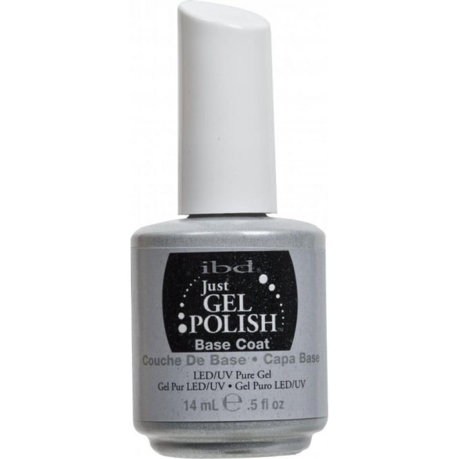 IBD Gel Professional Pure LED & UV Just Gel Polish - Base Coat - 14 ml