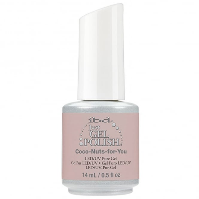 IBD Gel Professional Pure LED & UV Just Gel Polish - Coco Nuts For You 14ml (1314053)