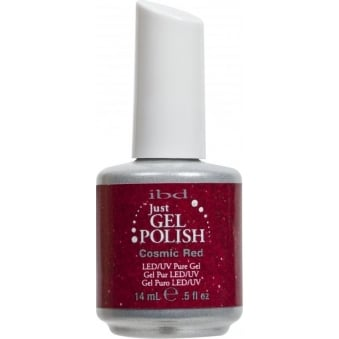 Pure LED & UV Just Gel Polish - Cosmic Red 14 ml