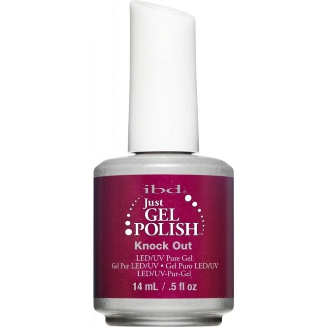 IBD Gel Professional Pure LED & UV Just Gel Polish - Knock Out 14ml