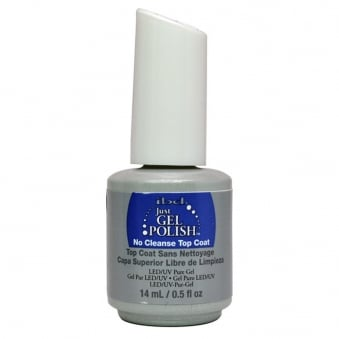 Pure LED & UV Just Gel Polish - No Cleanse Top Coat 14ml