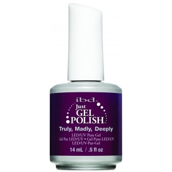 Pure LED & UV Just Gel Polish - Truly Madly Deeply 14ml