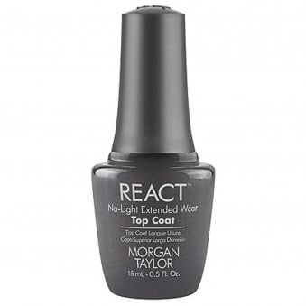 React No Light Extended Wear Top Coat 15ML