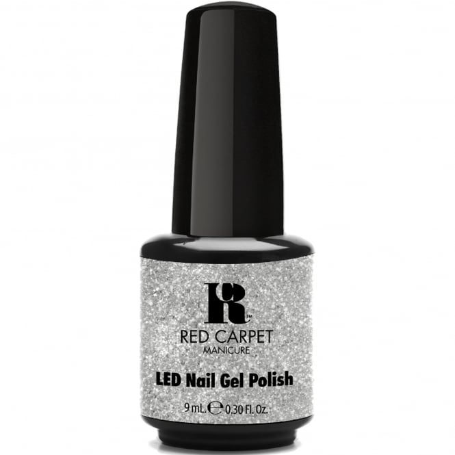 Red Carpet Manicure Gel A Touch Of Bling LED Nail Polish Collection - Ring My Belle 9ml