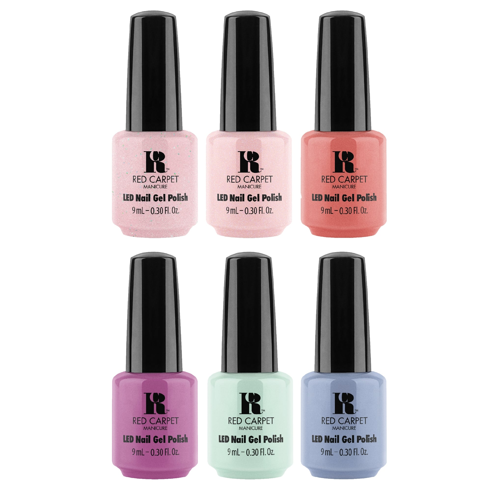 RCM Bloom Style 2018 Gel Polish Collection - Complete 6 Piece Set