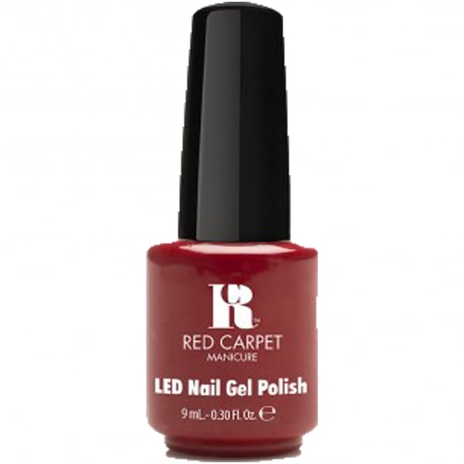 Red Carpet Manicure Gel EU LED Nail Polish Collection - Runway Red 9ml