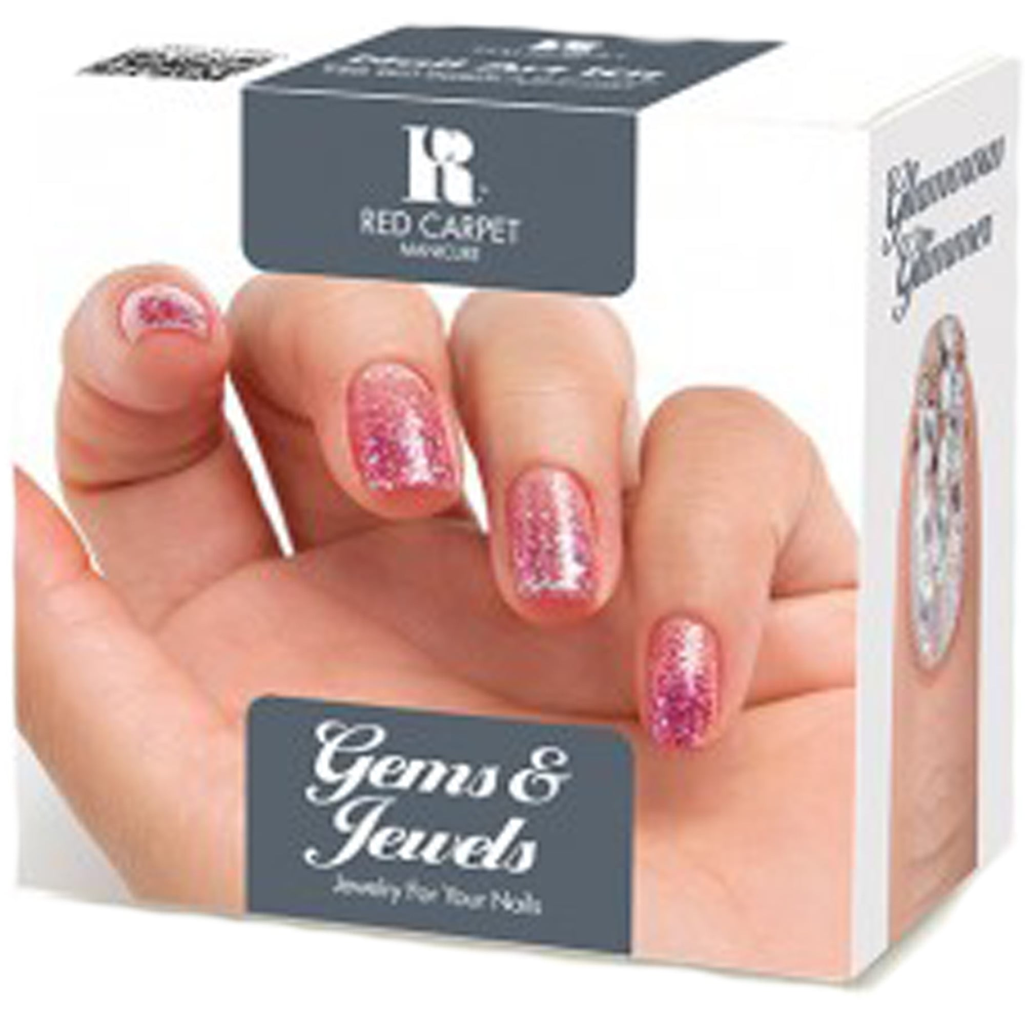 Red Carpet Manicure Gems Jewels Kit Best Selling Nail Art Kits