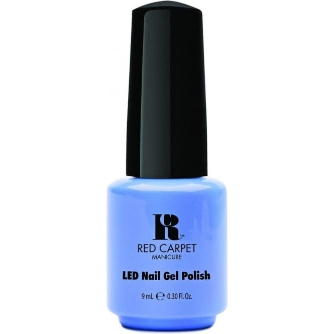 Red Carpet Manicure Gel LED Limited Edition Nail Polish 2015 Gel Collection - Blue Delicious 9mL