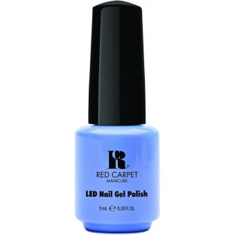 LED Limited Edition Nail Polish 2015 Gel Collection - Blue Delicious 9mL