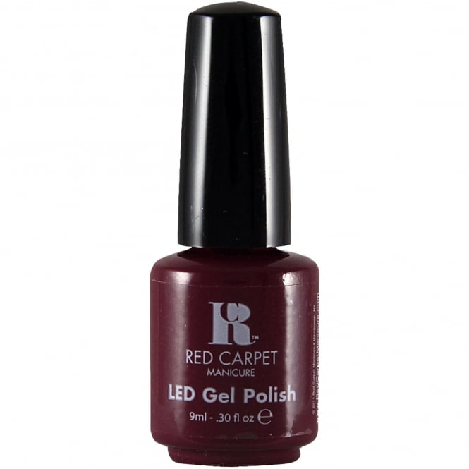 Red Carpet Manicure Gel LED Nail Polish - 9 Inch Heels 9ml
